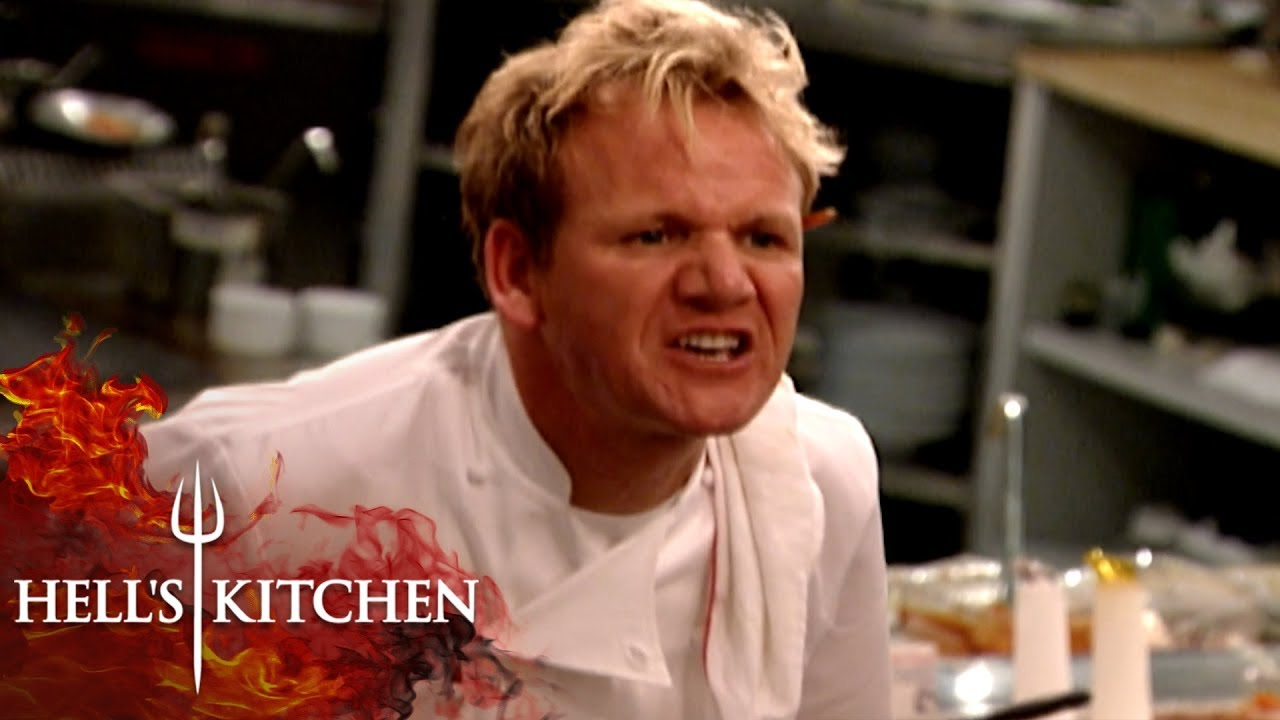 Chef Runs Out Of Salmon During Service Hell S Kitchen