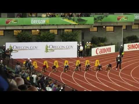 100M Final Dina Asher-Smith 11.23 GBR IAAF WJC 2014.    MVI 5448