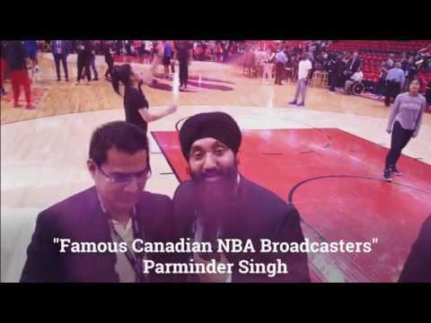 John Melo meets Parminder Singh Canadian/Punjabi NBA Broadcaster