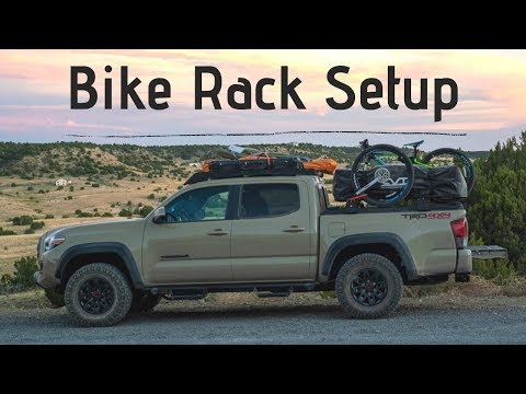 truck bed bicycle rack mod on 2019