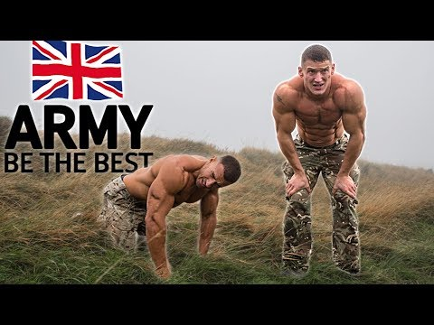 Bodybuilders try the British Army Fitness Test without pract