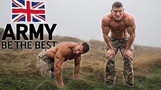 Bodybuilders try the British Army Fitness Test without practice