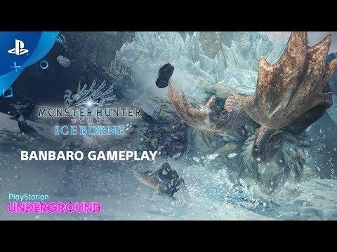 PlayStation Underground mostra mais de Monster Hunter World: Iceborne.