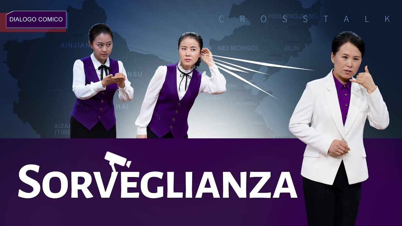 """Video cristiano 2019 - """"Sorveglianza"""" Il PCC ha violato all'estremo i diritti umani (Dialogo comico)"""