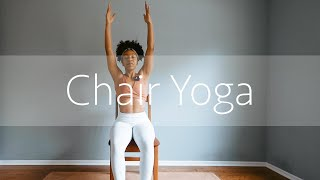 Easy and Gentle CHAIR YOGA | Yoga at your DESK!
