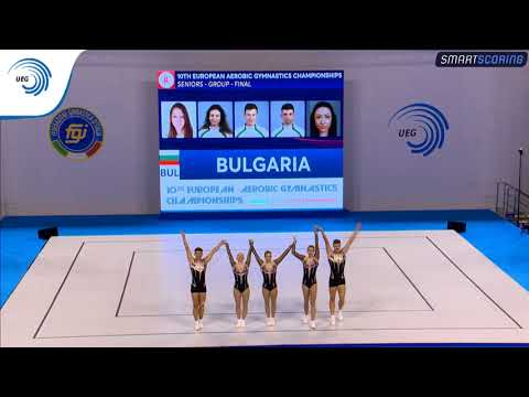 Bulgaria - 2017 Aerobics Europeans, group final