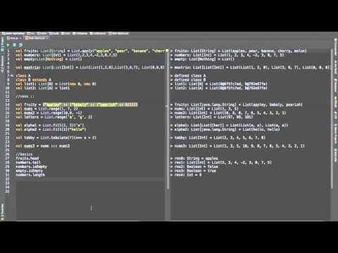 scala lists basics