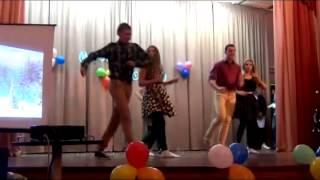 Новогодний вечер танец Буги вуги