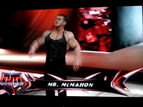 Vince McMahon Entrance Smackdown vs Raw 2009