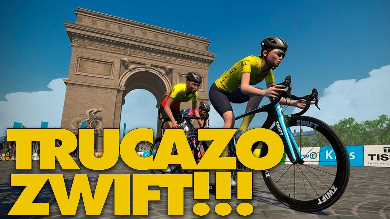 ¡TRUCAZO! Corre en Zwift Francia y París CUANDO QUIERAS sin depender de eventos 🇫🇷🇫🇷🇫🇷