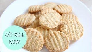 Recept na máslové sušenky!
