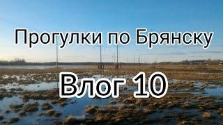 Радица-Крыловка 2018, паводок. Реки Радица и Болва. Прогулки по Брянску, влог 10.