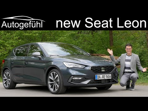 all-new Seat Leon FR 1.5 eTSI FULL REVIEW driving 2020 - Autogefühl