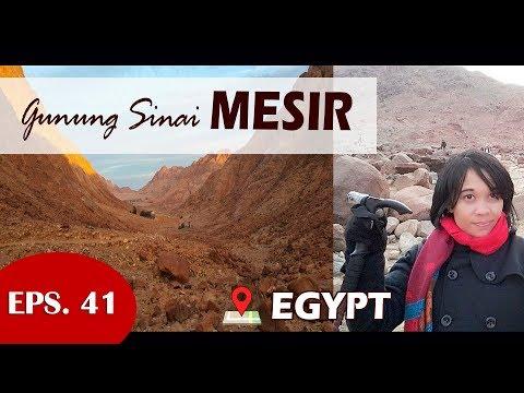 Down from Mount Sinai, Egypt