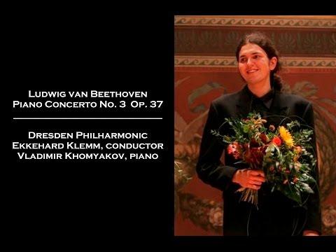 Vladimir Khomyakov plays Beethoven Piano Concerto No 3 Op 37 in C minor