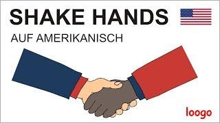 Shake Hands auf Amerikanisch