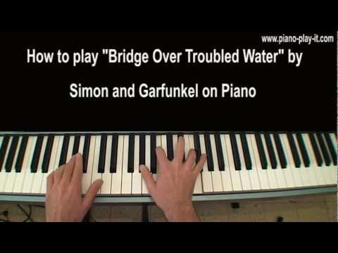 Bridge Over Troubled Water Piano Tutorial Simon and Garfunkel