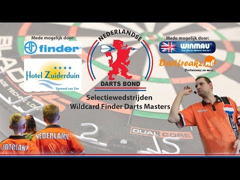 Selectiewedstrijden Wildcard Finder Darts Masters