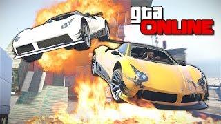 GTA 5 Online (PC) - Мастер аэродинамики! #128