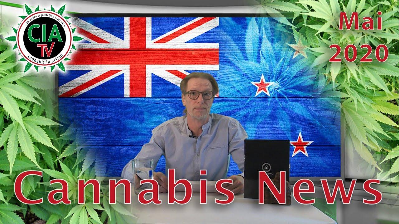 Cannabis NEWS Mai 2020 - Neuseeland, Marihuana-Testgerät, Luxemburg, Tschechien, Uruguay, Frankreich