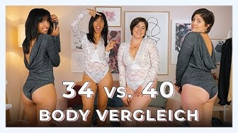 GRÖßE 34 vs. 40 BODY VERGLEICH mit Sofia Martinez | Geht das mit jeder Kleidergröße?