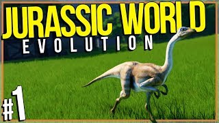 Jurassic World: Evolution | FRED THE DINOSAUR (#1)