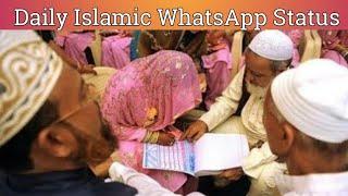 Nikah Whatsapp Status | Zaid Patel | Islamic Whatsapp Status