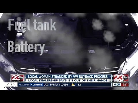 Local woman says VW buyback process has left her stranded