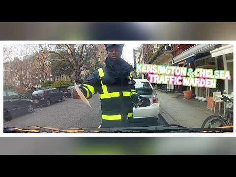 TRAFFIC WARDEN LOOKS FOR MORE VICTIM'S AFTER TICKETING ME(KENSINGTON & CHELSEA)