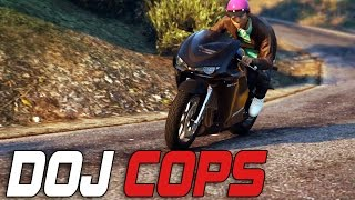 Dept. of Justice Cops #59 - On The Run (Criminal)