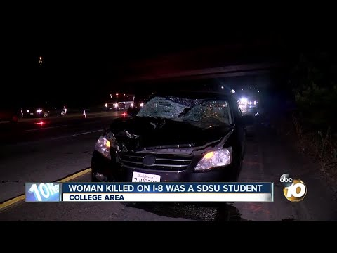 Woman killed on I-8 was San Diego State University student