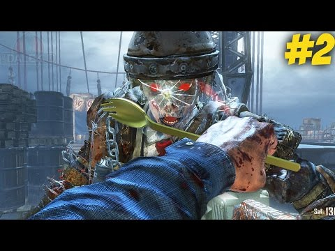 "THE CREEPIEST EASTER EGG WEAPON! -  ""MOB OF THE DEAD"" LIVE w/Dalek #2! (Black Ops 2 Zombies)"