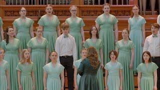 """Хор """"Мелодия"""" в Большом зале Консерватории - 2021 (25 лет Ассоциации московских хоров)"""