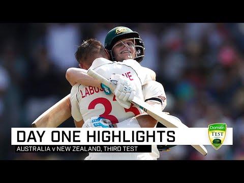 Labuschagne, Smith Make Kiwis Toil Hard At The SCG   Third Domain Test V New Zealand