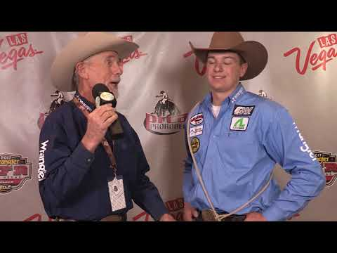 Tie-Down goes to Cooper Martin in Round 4 | NFR 2017 Interviews