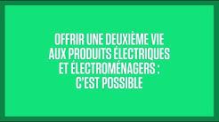#UnpasdePlus Cdiscount agit pour offrir une deuxième vie aux produits électriques et électroménagers