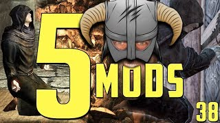 🐉5 ANIMATION MODS for SKYRIM SE! | Part 1