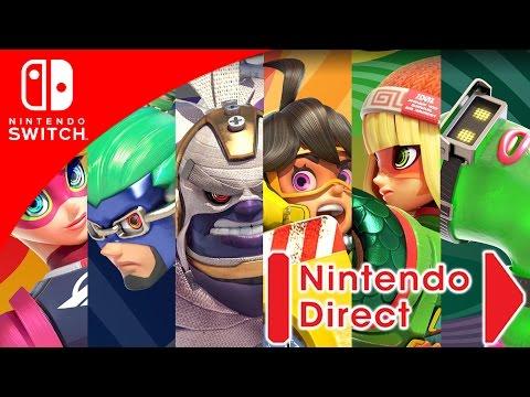 REACCIONES EN VIVO - ARMS!!   Nintendo Direct 5.17.2017   8BitCR