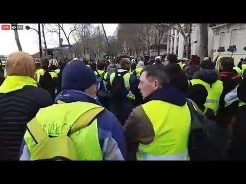 Gilets Jaunes acte 16 IMPERTURBABLES France 03.02.2019 #GiletsJaunes #YellowVests part deux