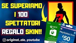 Shop 26 JENNAIO - SKIN SEGRETA IN ARRIVO? - XBOX/PSN Card REGALO!! -Clan Auditions -Live Fortnite Ita