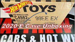 Hot Wheels 2020 E CASE Unboxing - Nice Case!