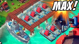 """BUYING SCORCHER UPDATE!""  MAX Level All Scorcher Attacks Boom Beach!"