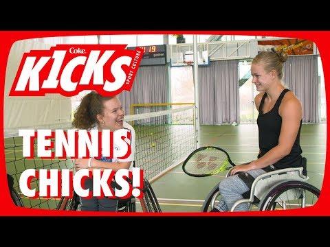 Diede de Groot geeft tennisles – Kicks #10