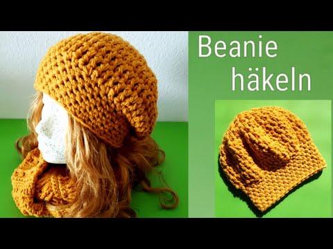 Einfache Mütze Häkeln Beanie