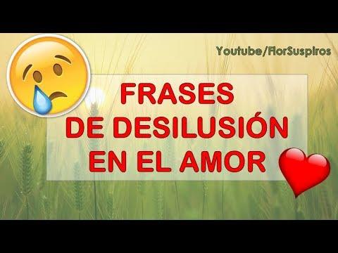 Desilusión En El Amor