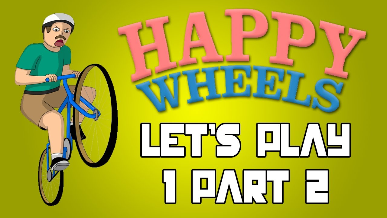 Happy wheels let 39 s play 1 pt 2 heart attack youtube - Let s play happy wheels ...