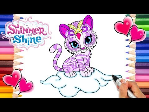 - Nahal Shimmer And Shine Coloring Page Shimmer And Shine Coloring Book  Nahal Printable Coloring - YouTube