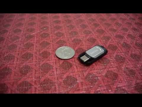 SanDisk Ultra USB Type-C 32GB Flash Drive (SDCZ450-032G-G46) Unboxing