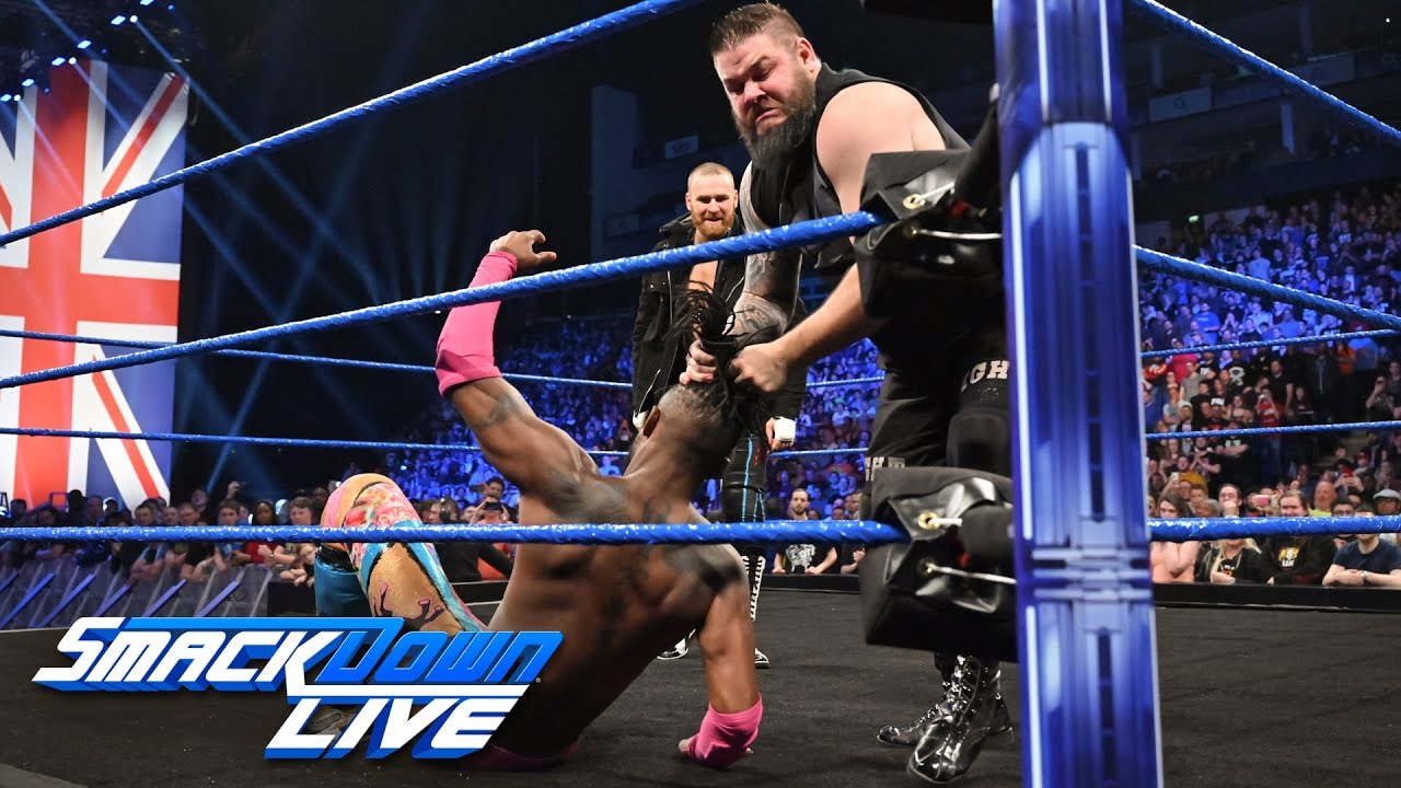 Kevin Owens & Sami Zayn ambush Kofi Kingston: SmackDown LIVE, May 14, 2019