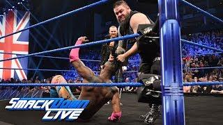 Kevin Owens & Sami Zayn ambush Kofi Kingston: SmackDown LIVE, May 14, 2019